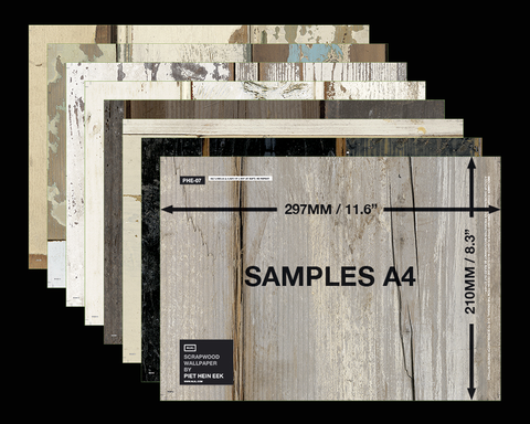 Sample Envelope Scrapwood Wallpaper Piet Hein Eek 1 | NLXL