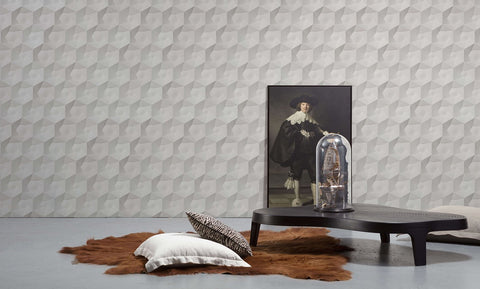 VOS-01 Hexa Ceramics Wallpaper by Studio Roderick Vos