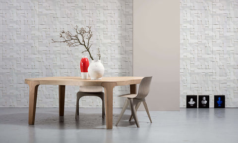 VOS-02 House Ceramics Wallpaper by Studio Roderick Vos
