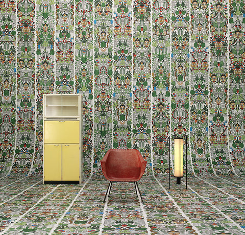 JOB-05 l'Afrique Archives Wallpaper by Studio Job | NLXL