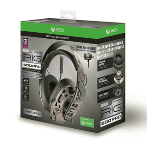 Plantronics RIG 500 HX PRO Headset Binaural XBOX / WINDOWS 10 / PS4 in grau