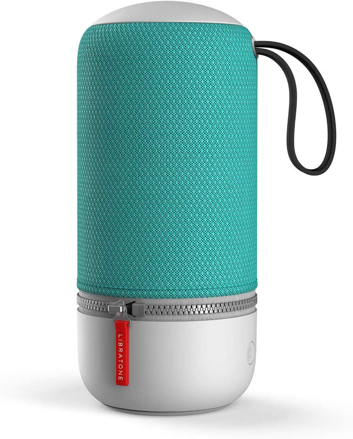 Libratone ZIPP MINI 2 Smart Wireless kleiner Lautsprecher (Alexa Integration, AirPlay 2, MultiRoom, 360° Sound, Wlan, Bluetooth, Spotify Connect, 12 Std. Akku) pine green