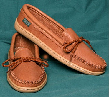 Molded Sole Moccasin Made in America by Footskin
