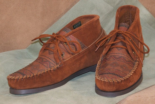 Women's Suede Lace-up Chukka 1837 Made in USA by Footskins