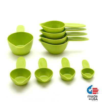 NEW! POURfect® Measuring Cup 9 pc Set Made in USA