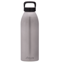 Straight Up Aluminum Water Bottle w/Black Cap Made in USA by Liberty Bottleworks AlumBottle