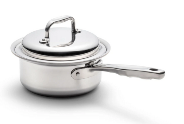 NEW! 1.75 Quart Saucepan with Cover by 360 Cookware Made in USA