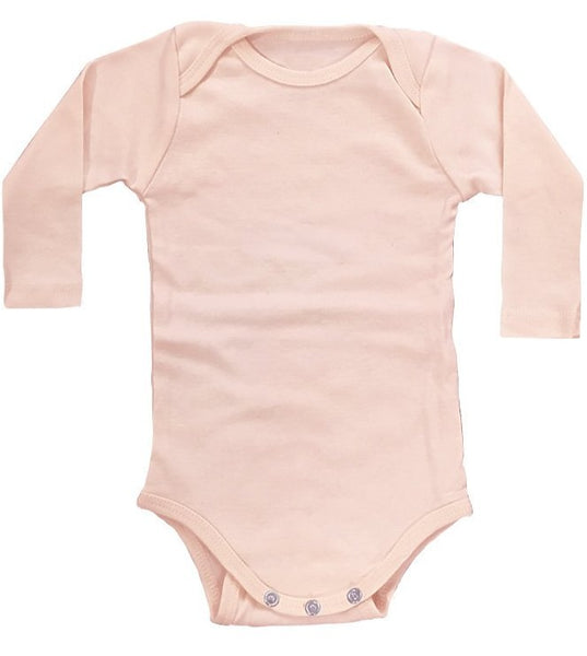 Organic Infant Long Sleeve One Piece 2-Pack by Royal Apparel Made in USA 2037ORG