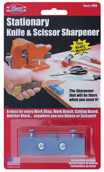 Stationary Knife & Scissors Sharpener by Creative Sales Company Made in America