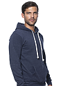 Unisex Triblend Fleece Pullover Hoody by Royal Apparel Made in USA 25055