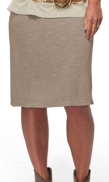 Agile Skirt Pencil Skirt Organic Cotton by Earth Creations Made in USA 2604