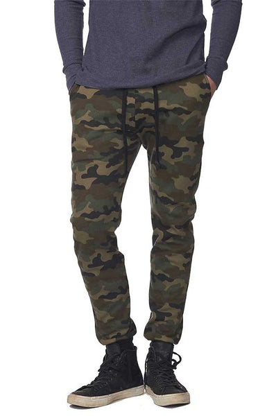 Camo Fleece Unisex Jogger Pant by Royal Apparel Made in USA 3070CMO