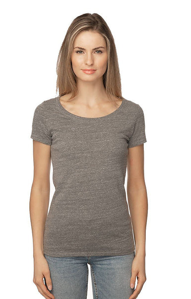 2-Pack Women's ECO Triblend Scoop Neck T USA Made by Royal Apparel 32112