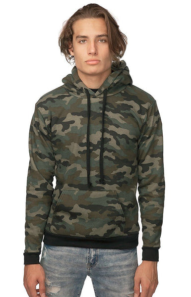 Camo Pullover Hoody Made in USA by Royal Apparel 3515CMO
