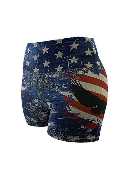 Women's Freedom Performance Short by WSI Made in USA 461WBBUXS