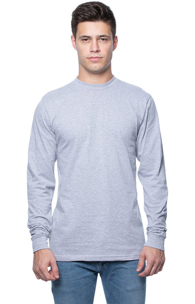 3-Pack Men's Long Sleeve Crew Tee by Royal Apparel Made in America 5054