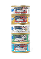 NEW! 5-Pack American Tuna Sampler Pack Made in USA