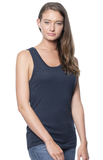 2-Pack Unisex Bamboo Organic Tank Top by Royal Apparel Made in USA 73058