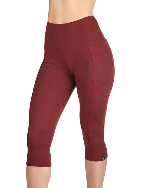 Ruby SoftTECH™ Capri Pants With Pockets by WSI Sports Made in USA 731SPPR