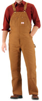 Extra Heavy Duty Brown Cotton Duck Overall by ROUND HOUSE® Made in USA 83
