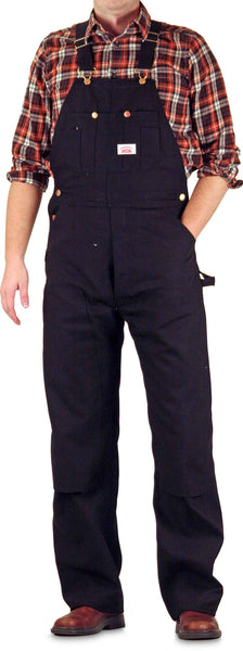 Black Extra Heavy Duty Brown or Black Cotton Duck Overall by ROUND HOUSE® Made in USA 383