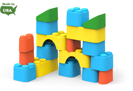 Block Set Made in USA by Green Toys BLKA-1110