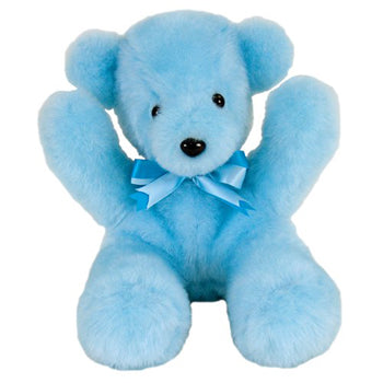 Baby Boys First Teddy Bear USA Made by American Bear Factory