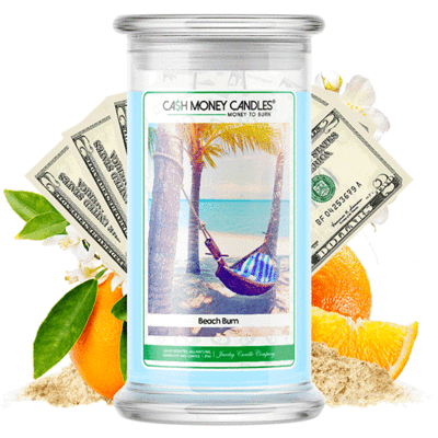 Beach Bum Cash Money Candles Made in USA