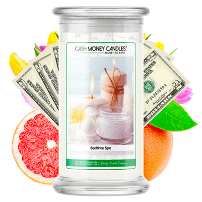 Bedtime Spa Cash Money Candles Made in USA