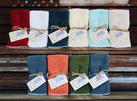 Cotton Kitchen Towels 24x15 2-2pks Made in USA by Country Cottons KitchenTowel