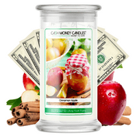 Cinnamon Apple Cash Money Candles Made in USA