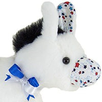 "Patriotic Donkey 11"" by American Bear Factory"