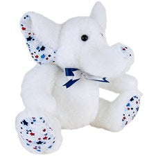 "Patriotic Elephant 11"" by American Bear Factory"