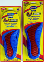 Ener-Gel Cushion Cool Gel Insoles Made in USA by Paragon