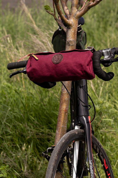 NEW! Candy Bar Bike Bag by Duluth Pack Made in USA Cyclist's Bag Z-102-NAT