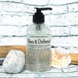 Fragrance Collection Waves & Driftwood Body Lotion & Moisturizing Liquid Cleanser Set  by B. Witching Made in USA