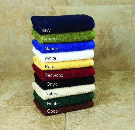 Millennium Towel Set (One Each Bath, Hand, Washcloth) Made in USA by 1888 Mills
