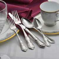Copy of Martha Washington Stainless Flatware - 45 Piece Set Made in USA