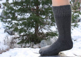 """Superwarm"" Alpaca Socks 2-Pack Made in the USA"