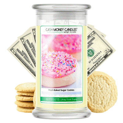 Fresh Sugar Cookie Money Candles Made in USA