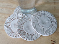 NEW! Sunflower Coasters Set of 4 by Liberty Tabletop Made in USA x331