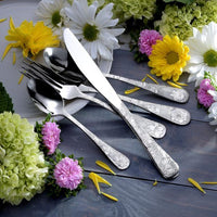 65 Piece Set of American Garden Flatware American-Made