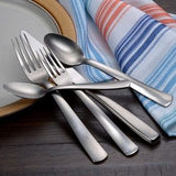 Industrial Rim Flatware Set - 45 Piece Made in USA