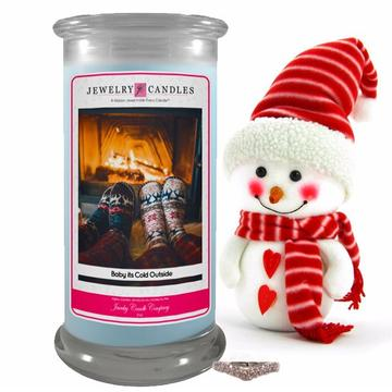 Baby It's Cold Outside Jewelry Candle Made in USA