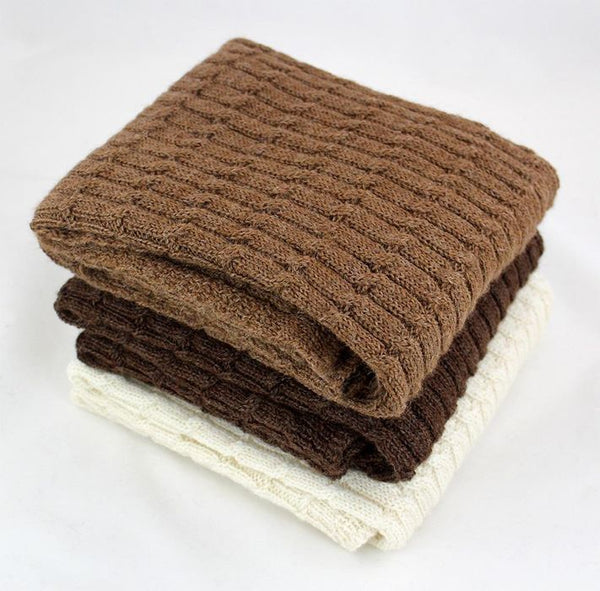 Cozy Alpaca Baby Blanket Made in USA