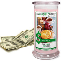 Baked Apple Pie Cash Money Candles Made in USA