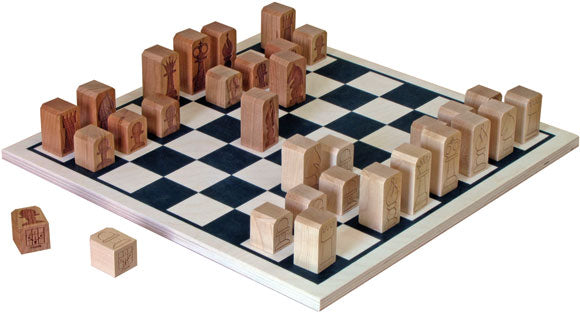 Basic Chess Set Made in USA by Maple Landmark