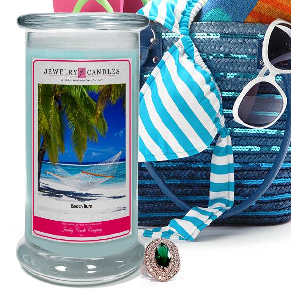 Beach Bum Jewelry Candle Made in USA