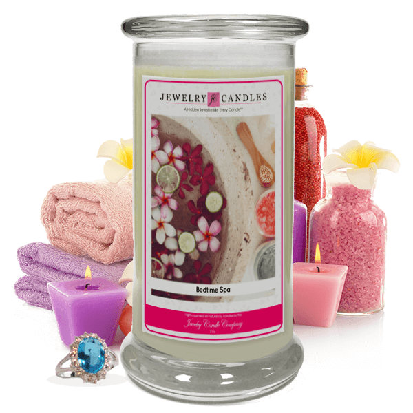 Bedtime Spa Jewelry Candle Made in USA
