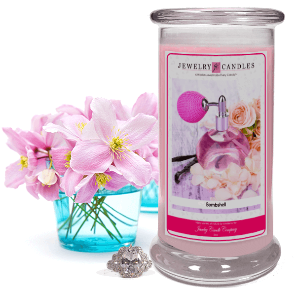 Bombshell Jewelry Candle Made in USA